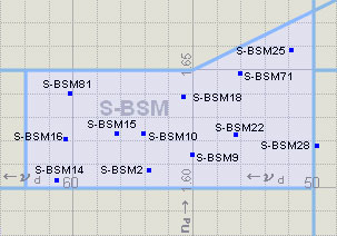 BSM Glass Map